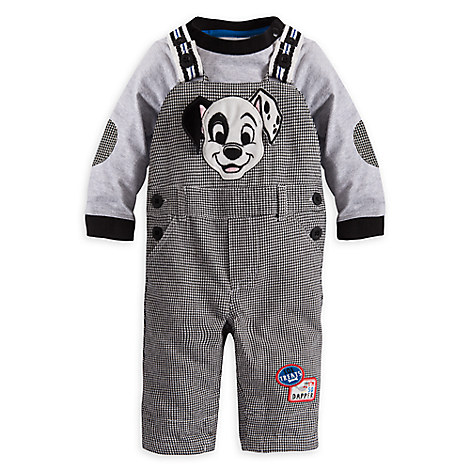 101 Dalmatians Dungaree Set for Baby