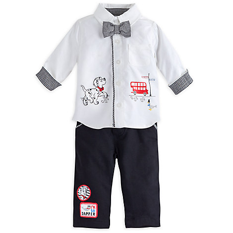 101 Dalmatians Deluxe Woven Shirt and Pant Set for Baby