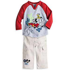 Mickey Mouse and Friends Shirt and Pant Set for Baby