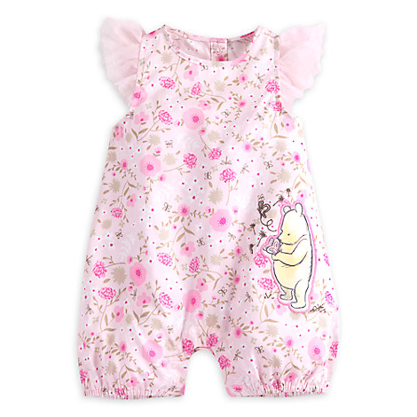 Winnie the Pooh Layette Romper for Baby