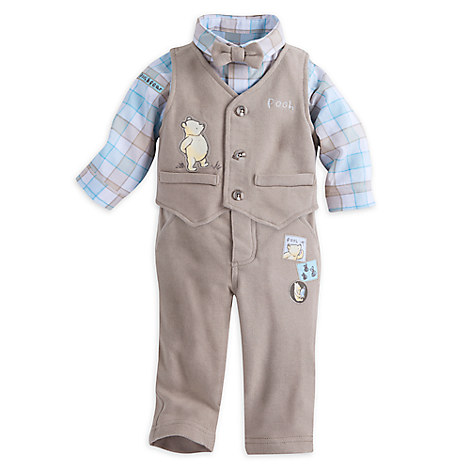 Winnie the Pooh Layette Fancy Set for Baby