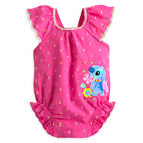 Stitch Woven Romper for Baby