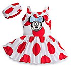 Minnie Mouse Woven Dress Set for Baby