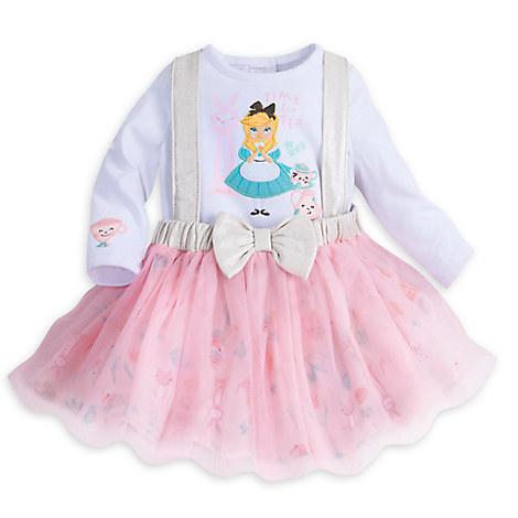 Alice in Wonderland Bodysuit and Tutu Set for Baby