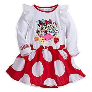 Minnie Mouse and Daisy Duck Skirt Set for Baby