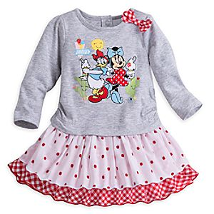 Minnie Mouse and Daisy Duck Happy Helpers Knit Dress for Baby