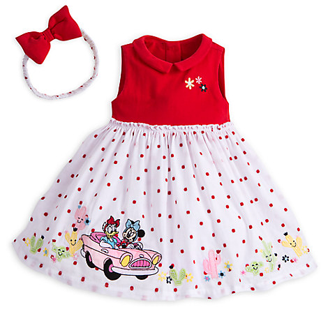 Minnie Mouse and Daisy Duck Dress Set for Baby