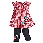 Minnie Mouse Dress and Pants Set for Baby