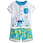 Stitch Shirt and Shorts Set for Baby