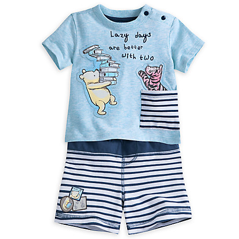 Winnie the Pooh Short Set for Baby