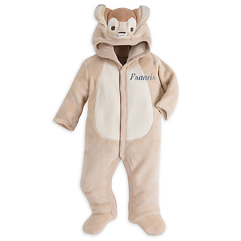 Bambi Costume Romper For Baby - Personalizable