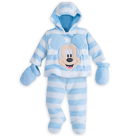 Mickey Mouse Snugglesuit Set for Baby