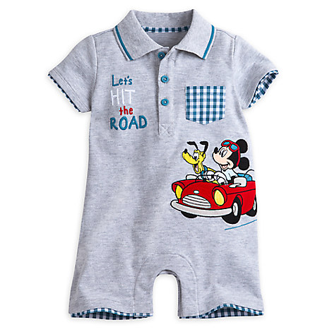 Mickey Mouse and Pluto Romper for Baby
