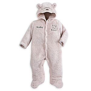 Winnie the Pooh Plush Character Romper for Baby - Personalizable