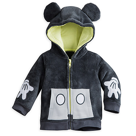 Mickey Mouse Knit Layette Jacket for Baby