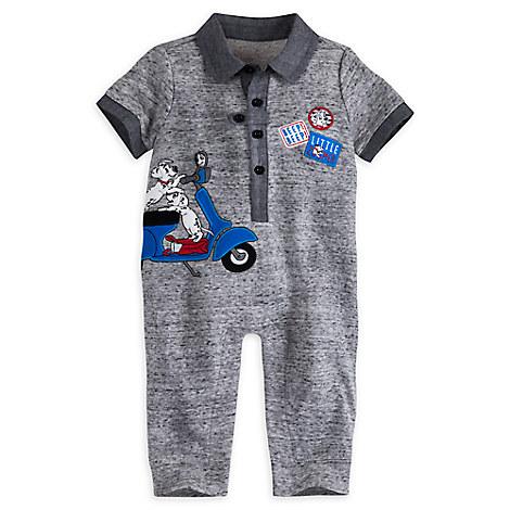 101 Dalmatians Fancy Romper for Baby