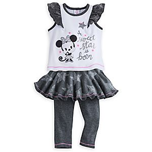 Minnie Mouse Layette Leggings Set for Baby
