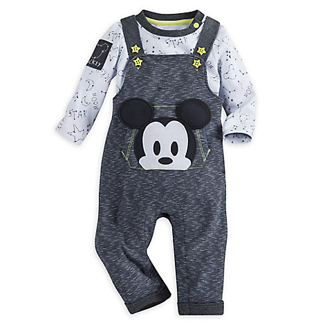 Mickey Mouse Layette Dungaree for Baby