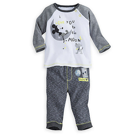 Mickey Mouse Layette Leggings Set for Baby