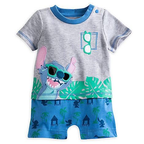 Stitch Knit Romper for Baby