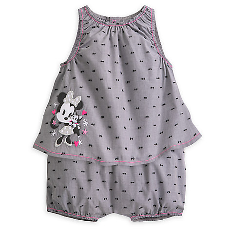 Minnie Mouse Layette Bloomer Set for Baby
