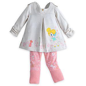 Tinker Bell Knit Leggings Set for Baby