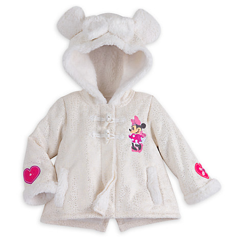 Minnie Mouse Holiday Fleece Jacket for Baby