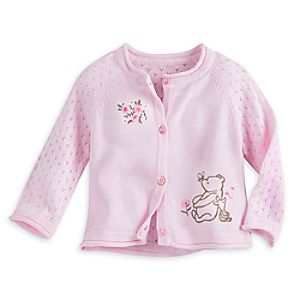 Winnie the Pooh and Piglet Cardigan Sweater for Baby