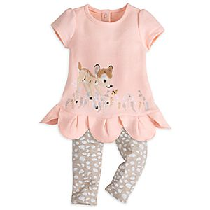 Bambi Dress Set for Baby