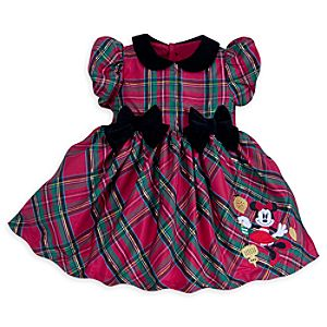 Minnie Mouse Holiday Dress for Baby - Share The Magic Collection