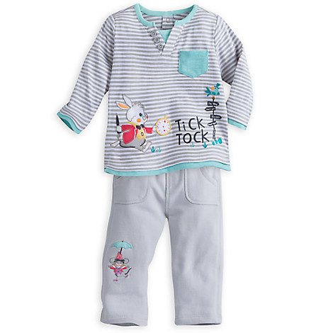 Alice in Wonderland Knit Set for Baby