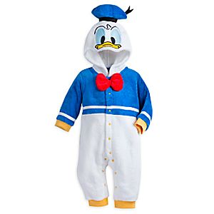 Donald Duck Fleece Costume Romper for Baby