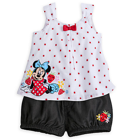 Minnie Mouse Bloomer Set for Baby