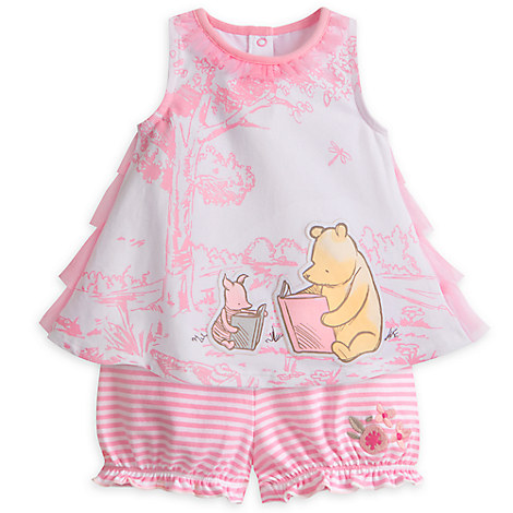 Winnie the Pooh Bloomer Set for Baby