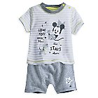 Mickey Mouse Layette Short Set for Baby
