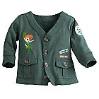 Peter Pan Cardigan for Baby