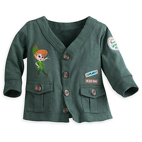 Peter Pan Sweat Jacket for Baby