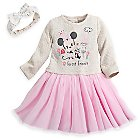 Minnie Mouse Knit Dress Set for Baby
