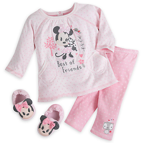 Minnie Mouse Slipper Set for Baby
