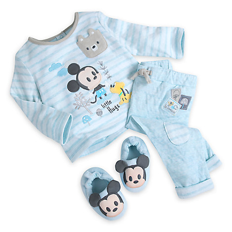 Mickey Mouse Slipper Set for Baby