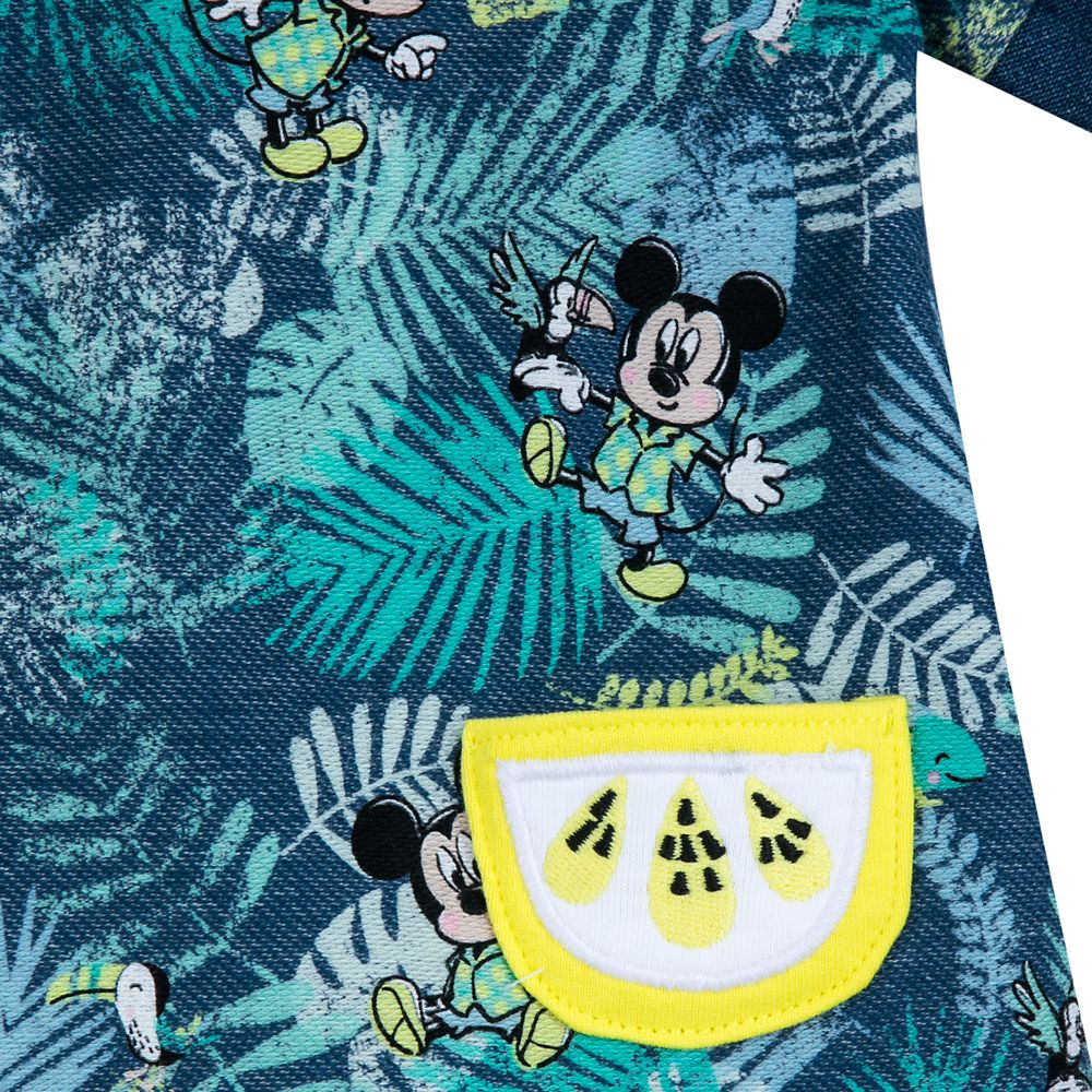 Mickey Mouse Tropical Romper for Baby