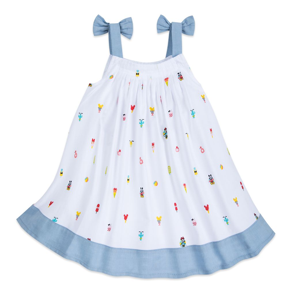 Mickey and Minnie Mouse Summer Fun Woven Dress for Baby