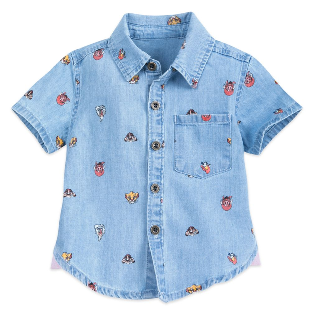 The Lion King Chambray Shirt for Baby