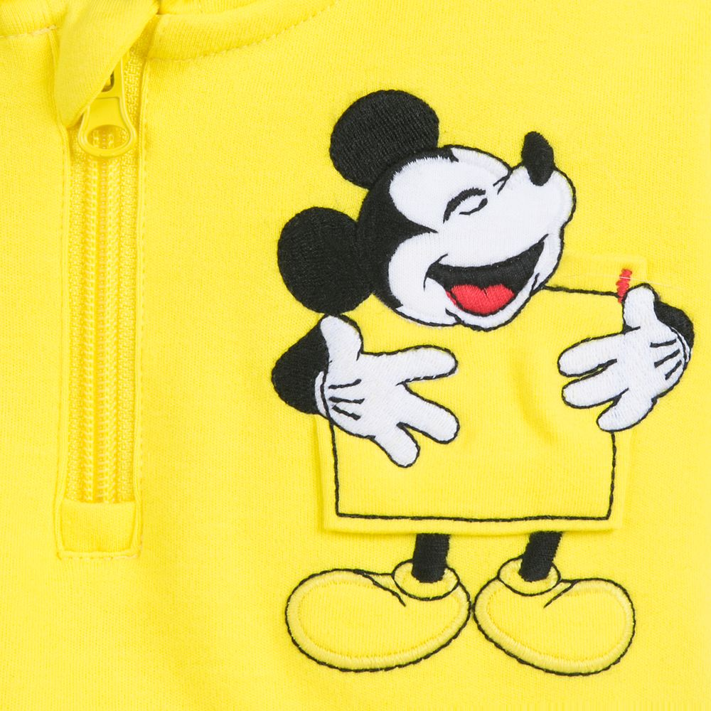 Mickey Mouse Hooded Shirt and Pants Set for Baby