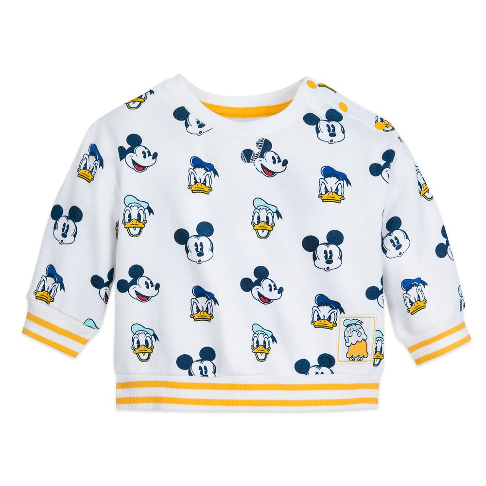 Mickey Mouse and Donald Duck Knit Top and Pant Set for Baby