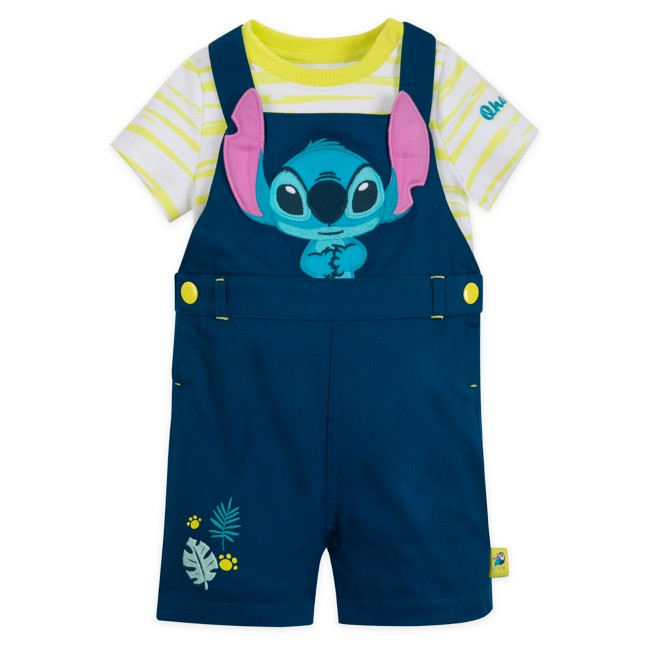 Stitch Dungaree Set for Baby