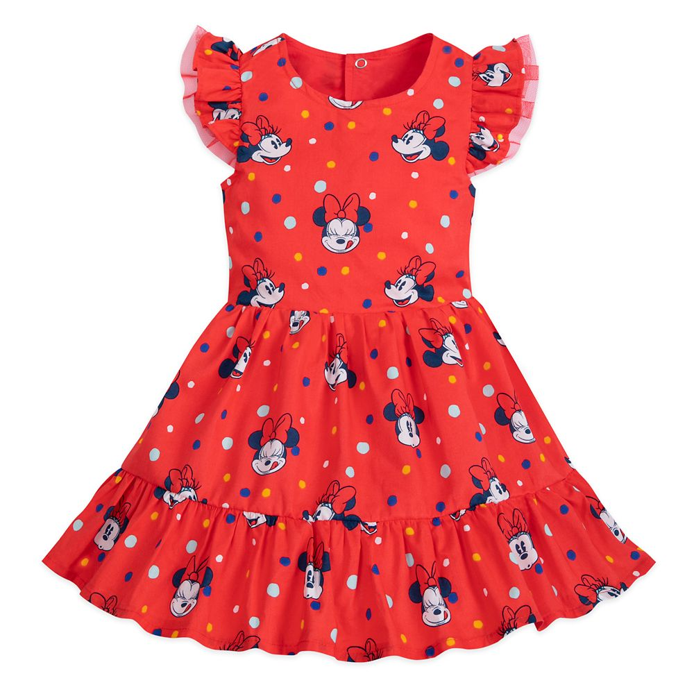 Minnie Mouse Dress For Baby