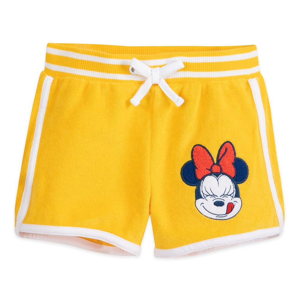 Minnie Mouse French Terry Top and Shorts Set for Baby
