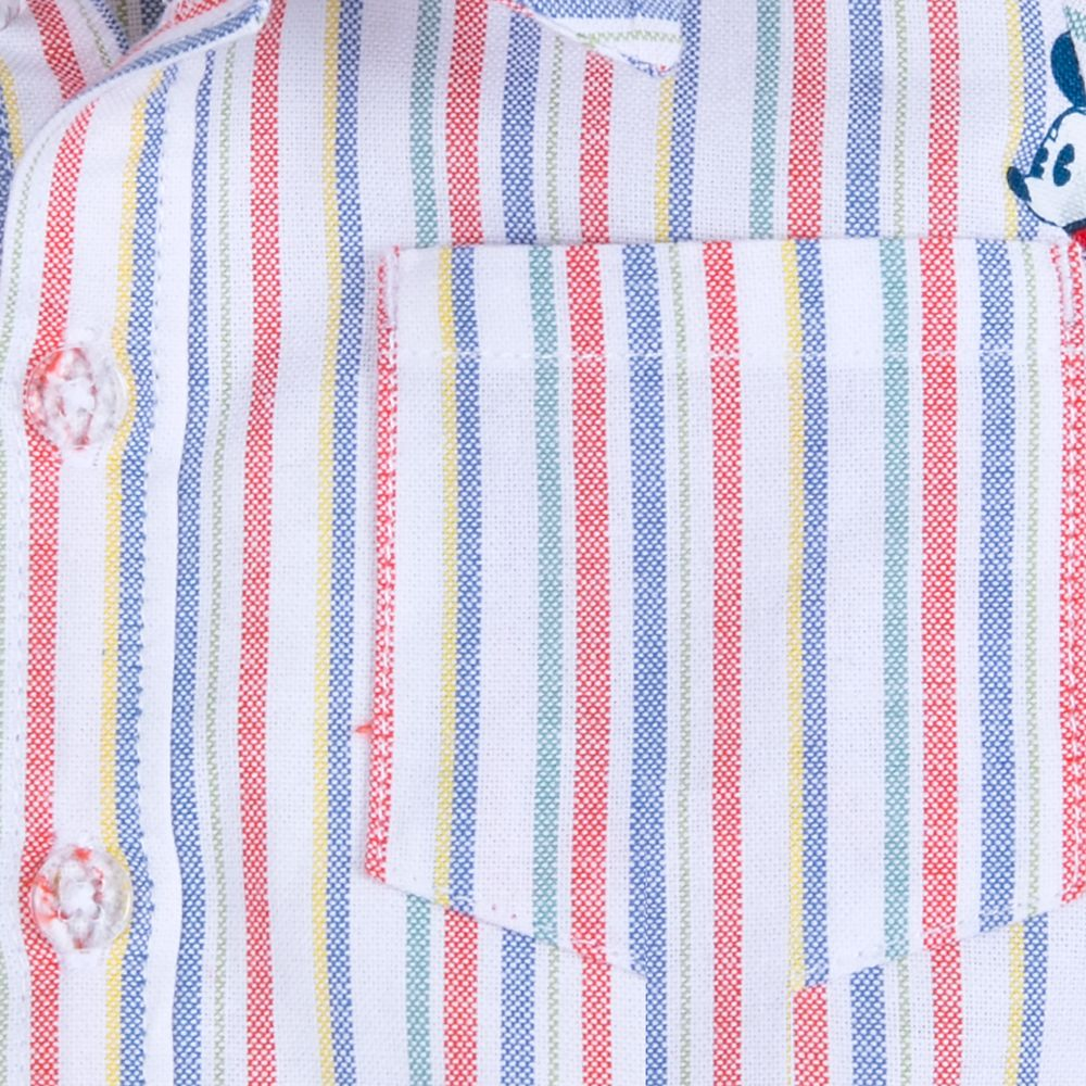 Mickey Mouse and Friends Summer Fun Woven Shirt for Baby