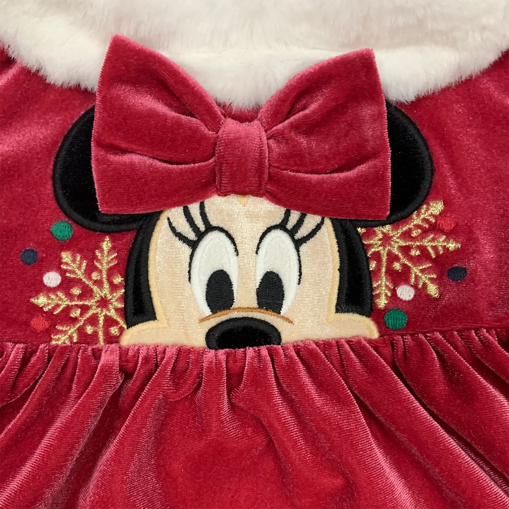 Minnie Mouse Holiday Dress and Hat Set for Baby
